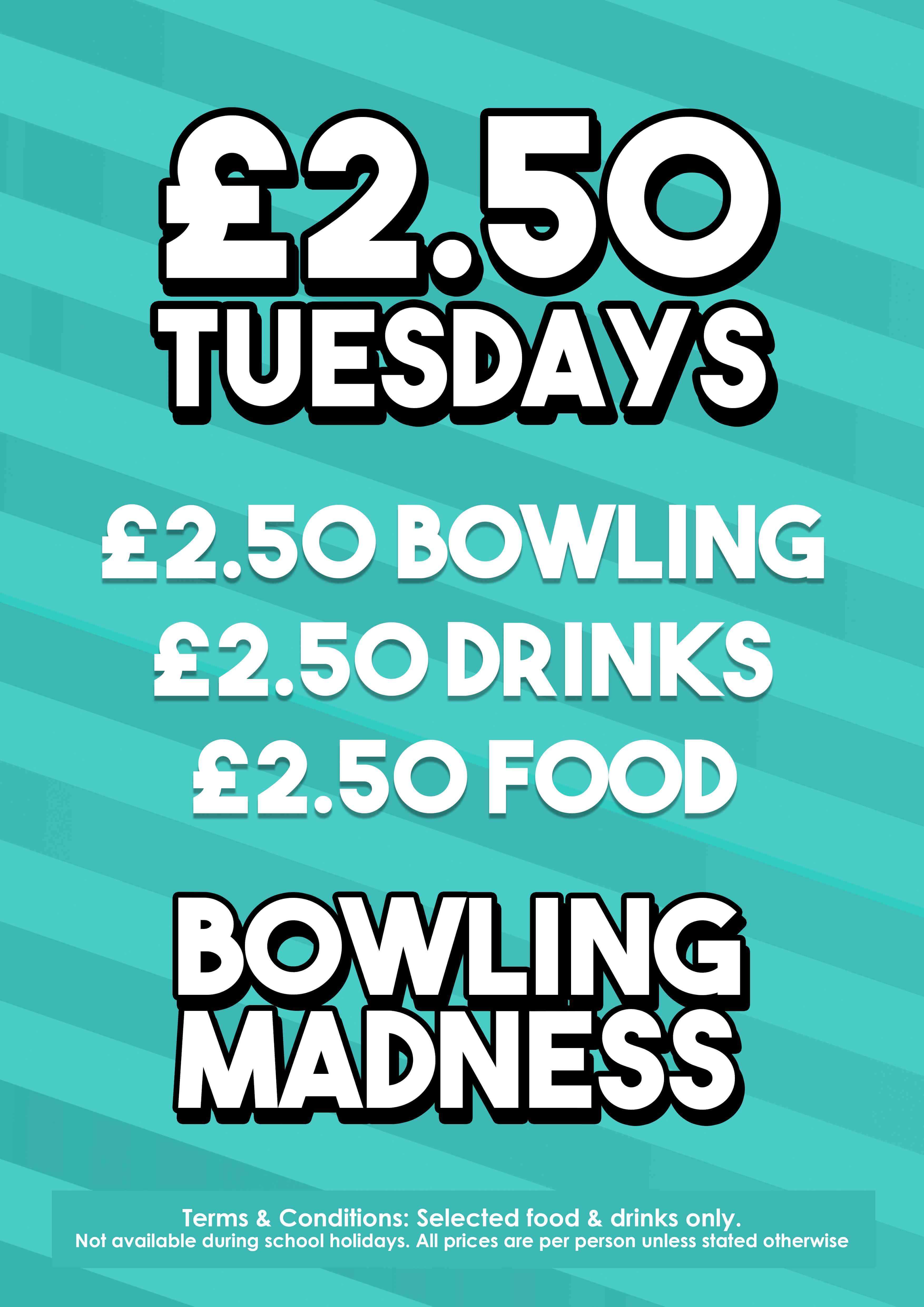 Sunderland Bowl - Eat, Drink & BOWL  Family friendly